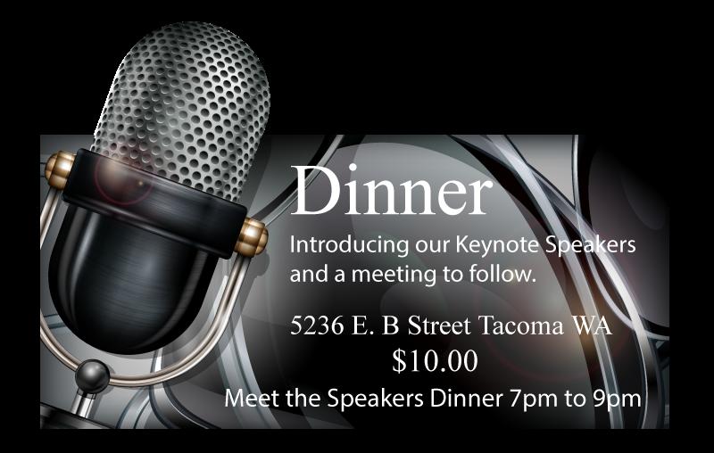 Meet the Speakers Dinner